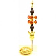 Шахта коричневая 6 кристаллов 1315