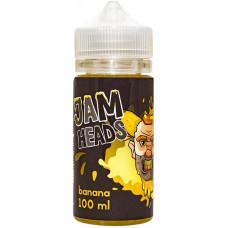 Жидкость Jam Heads 100 мл Banana 3 мг/мл