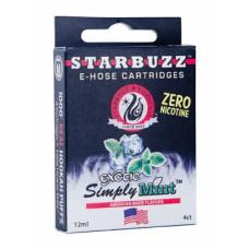 Картомайзер Starbuzz Мята 0 mg (Simply Mint) 1 шт