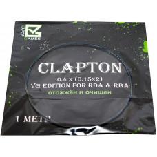 Спираль Vapor Games 1 метр Clapton 0.4*(0.15*2)