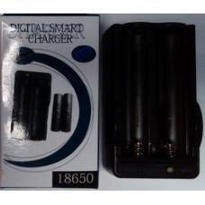 Зарядное устройство 18650, 17670, 14650 аккумуляторов (2x) li-ion (3.7V)