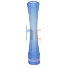 Дрип тип Дельярин Удлиненный Голубой (drip tip 510) PLA09