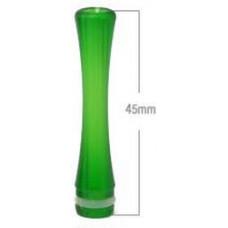 Дрип тип Дельярин Удлиненный Зеленый (drip tip 510) PLA09