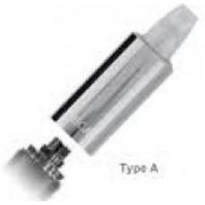 Атомайзер ECA Тип А с юбкой в комплекте с испарителем и картриджем (Стальной и Хром)