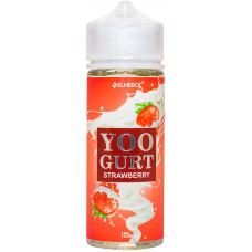 Жидкость Yoogurt 120 мл Strawberry 3 мг/мл