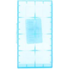 Кейс для хранения 2-х аккумуляторов 18650 синий
