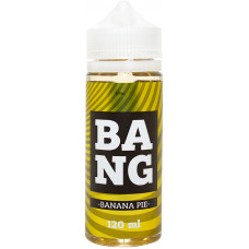 Жидкость BANG 120 мл Banana Pie 3 мг/мл