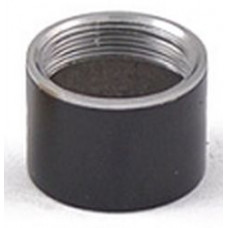 Муфта Декоративная Тип B (Цилиндр) Черный хромированный