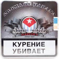 Сигариллы Aroma De Habana Classicos портсигар 10 шт