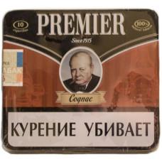 Сигариллы  Premier Cognac (Коньяк) портсигар 10 шт