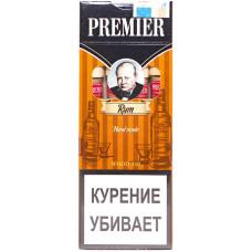 Сигариллы Premier  Wood tip Rum (Ром) с мундштуком 4 шт