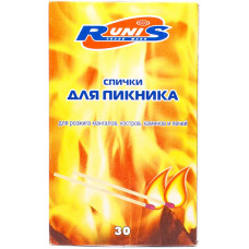 Спички для пикника Runis 30 шт