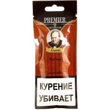 Сигариллы Premier  Cognac (Коньяк) пакет 3 шт