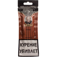 Сигариллы Premier Rum (Ром) пакет 3 шт