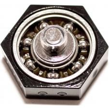 Vape Спиннер Черный Металл d=27.8 мм