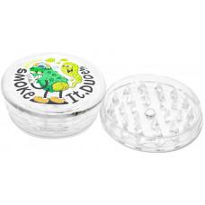 Гриндер Smoke It Dude пластик 6 см (Измельчитель)