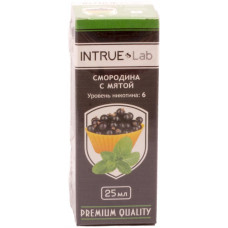 Жидкость INTRUE Lab 25 мл Смородина с мятой 6 мг/мл VG/PG 50/50