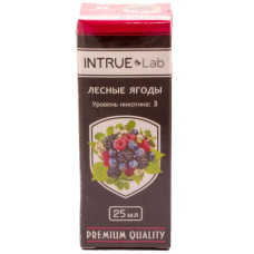 Жидкость INTRUE Lab 25 мл Вишня 3 мг/мл VG/PG 50/50