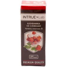 Жидкость INTRUE Lab 25 мл Клубника со сливками 00 мг/мл VG/PG 50/50