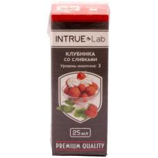Жидкость INTRUE Lab 25 мл Клубника со сливками 3 мг/мл VG/PG 50/50