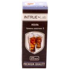 Жидкость INTRUE Lab 25 мл Кола 3 мг/мл VG/PG 50/50