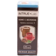 Жидкость INTRUE Lab 25 мл Кофе с молоком 3 мг/мл VG/PG 50/50