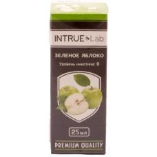 Жидкость INTRUE Lab 25 мл Зеленое яблоко 00 мг/мл VG/PG 50/50