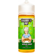 Жидкость Grannys Pie 120 мл Apple Crisp 3 мг/мл