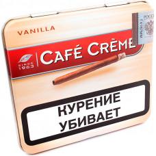 Сигариллы Cafe Creme  Vanila (без мундштука) 10*10*30