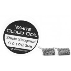 Спирали White Cloud Coil для Плат Stable Staggered 0.17 Ом 2 шт