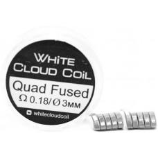 Спирали White Cloud Coil для Плат Quad Fused 0.18 Ом 2 шт