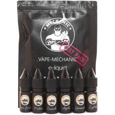 Тест пак Vape Mechanic 0 мг/мл  6*10 мл
