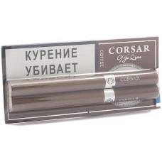 Сигариллы CORSAR Блистер 2шт 84мм Coffe Кофе (CORSAR Of The Queen Королевский Корсар)