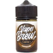Жидкость Vape Brew 80 мл Cappuccino 0 мг/мл