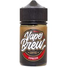 Жидкость Vape Brew 80 мл Espresso 0 мг/мл