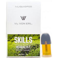 Картриджи Von Erl Skills Herbalist 24 мг/мл (Скиллс Хербалист) 1шт