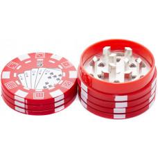Гриндер Poker 2 parts пластик 4 см (Измеличитель)