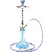 Кальян MYA BLAZE колба голубое стекло 593110 С h=56 см