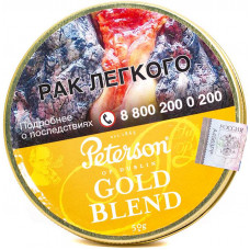 Табак трубочный PETERSON Gold Blend 50 гр (банка)