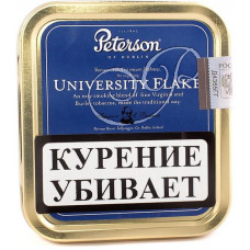 Табак трубочный PETERSON University Flake 50 гр (банка)