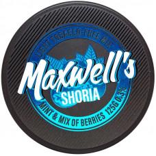 Кальянный Maxwells 125 гр Light Shoria Мята и лесные ягоды 0,3%
