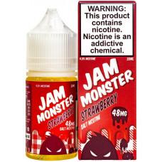 Жидкость Jam Monster Salt 30 мл Strawberry 48 мг/мл