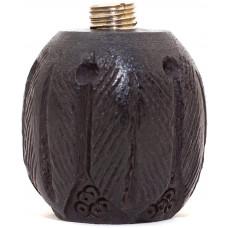 Чаша для трубки из чёрного дерева Абрикос 04551