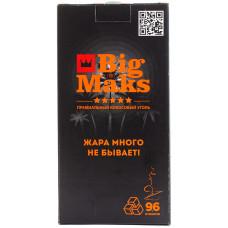 Уголь BigMaks 1 кг 22*22 мм (Big Maks)