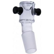 Ведерко стекло Black Сurves Ears 18.8 мм kcb-05