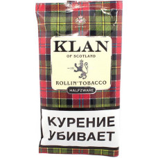 Табак KLAN сигаретный Halfzware (средняя крепость) 40 г (кисет)