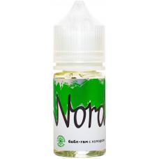 Жидкость Nord 30 мл Баблгам с Холодом 0 мг/мл