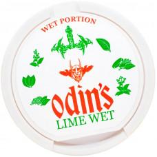 Жевательный ODINS 15 гр Лайм 18 мг LIME WET