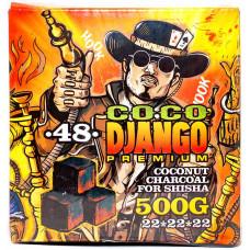 Уголь для кальяна CocoDjango Premium 500 гр 48 куб