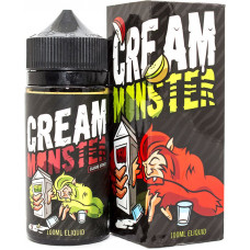 Жидкость Cream Monster 100 мл Apple Kiwi 3 мг/мл